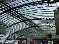 Hauptbahnhof Berlin – Insgesamt 1400 Rauchabzugsgeräte (NRWG) sorgen für höchste Sicherheit