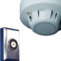 Brandschutztechnik Rauchmelder und Flächenmagnet