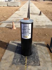 Erfolgreicher Crash Test -  M50 Poller trotzt 6,8 Tonnen